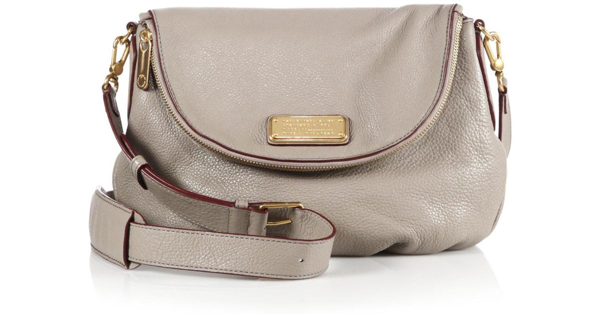 297640690d3e Lyst - Marc By Marc Jacobs Classic Q Natasha Crossbody Bag in Gray