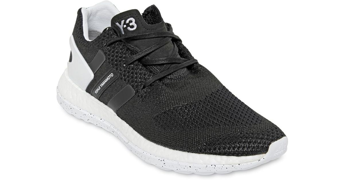 new product d4d7e 4b699 Lyst - Y-3 Pure Boost Zg Primeknit Sneakers in Black for Men