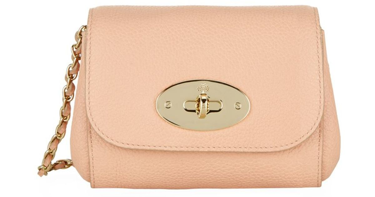 chloe purses prices - Mulberry Mini Lily Shoulder Bag in Beige | Lyst