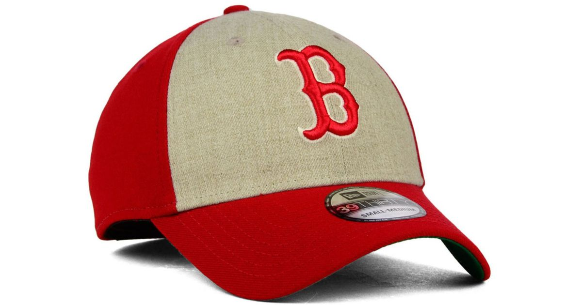 online store a43da 80441 Lyst - KTZ Boston Red Sox Classic Front 39Thirty Cap in Red for Men