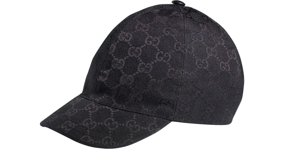 187cc50f8dc Lyst Gucci Gg Baseball Cap In Black For Men