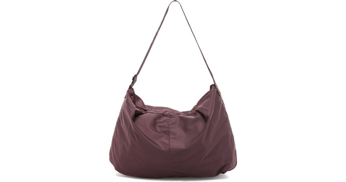 bensimon shoulder bag plum in purple lyst - Color Bag Bensimon