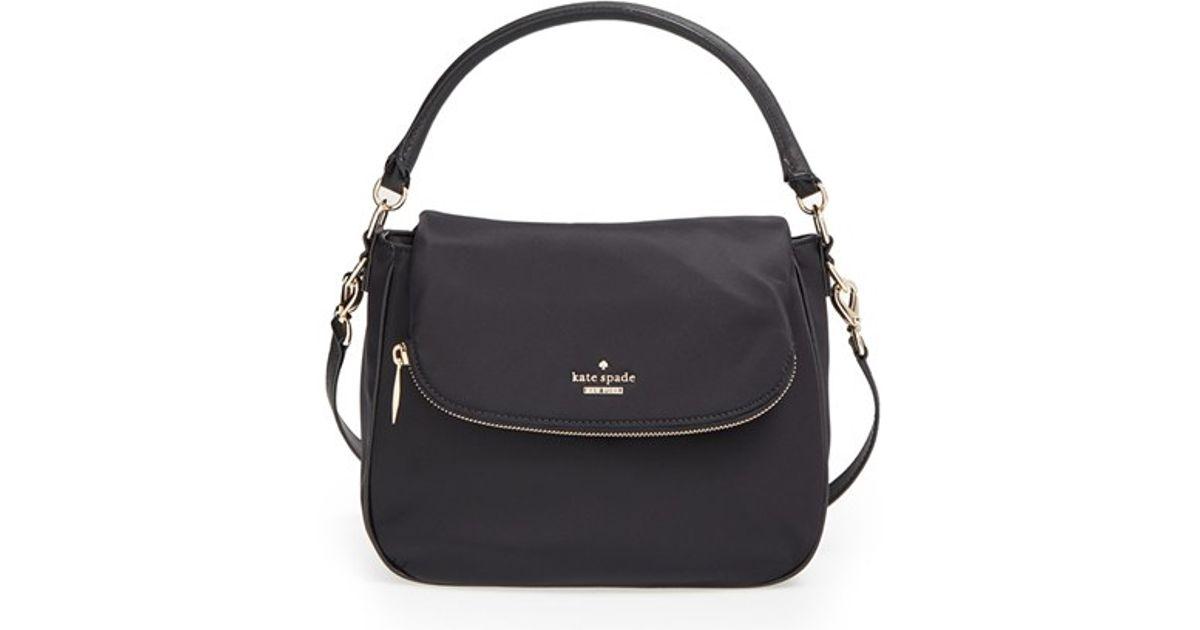 Lyst Kate Spade New York Classic Nylon Small Devin Crossbody Bag In Black
