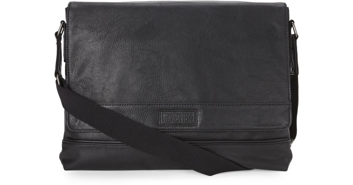52ff0a5f91fa Lyst - Kenneth Cole Reaction The Grand Tour Messenger Bag in Gray for Men