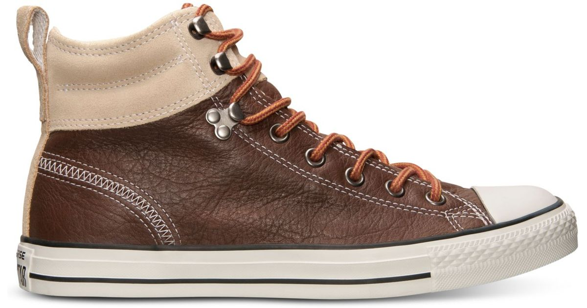 d83e344bd0cb Lyst - Converse Men s Chuck Taylor All Star Hiker 2 Sneakers From Finish  Line in Natural for Men