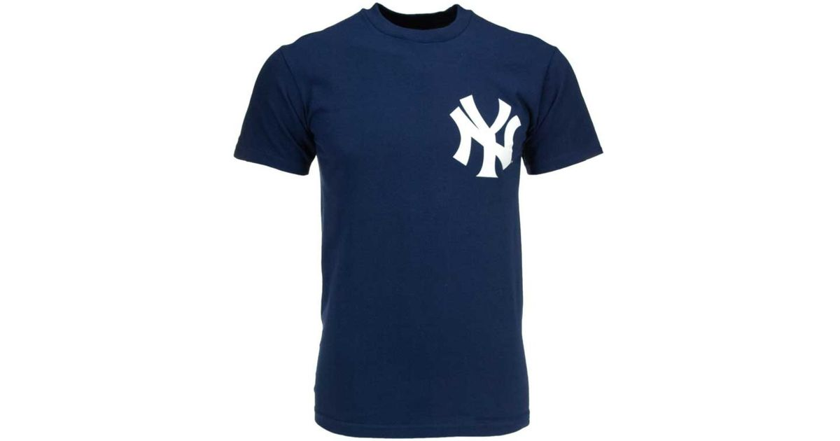 Lyst - Majestic Men S Short-Sleeve Mariano Rivera New York Yankees T-Shirt  in Blue for Men f06a408f55a