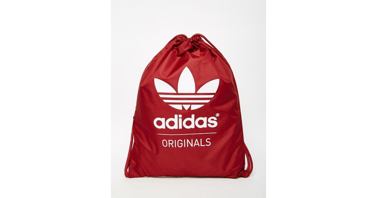 85f6fd89f36 adidas Originals Gym Bag Ab2759 in Red for Men - Lyst
