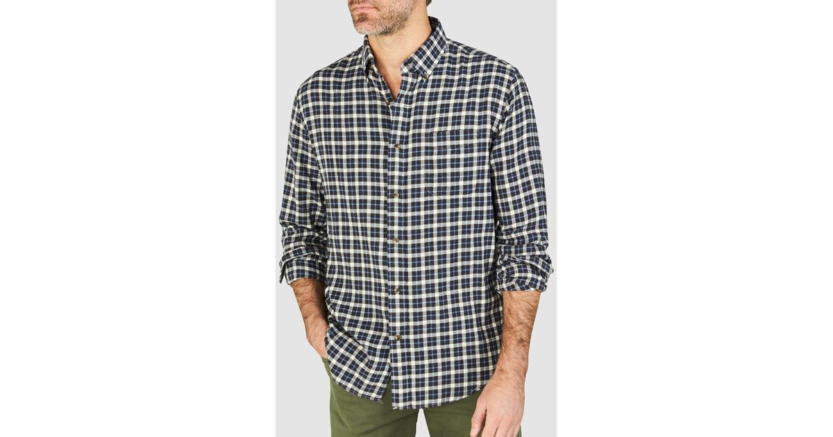 e84fe0421c0 Lyst - Faherty Brand Everyday Button-down Shirt in Blue for Men