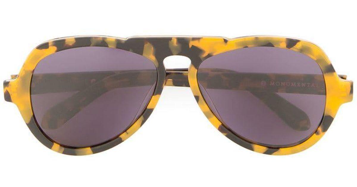 In Walker Sunglasses Karen For Yellow Lyst Men Oscar qSpLVUzGjM