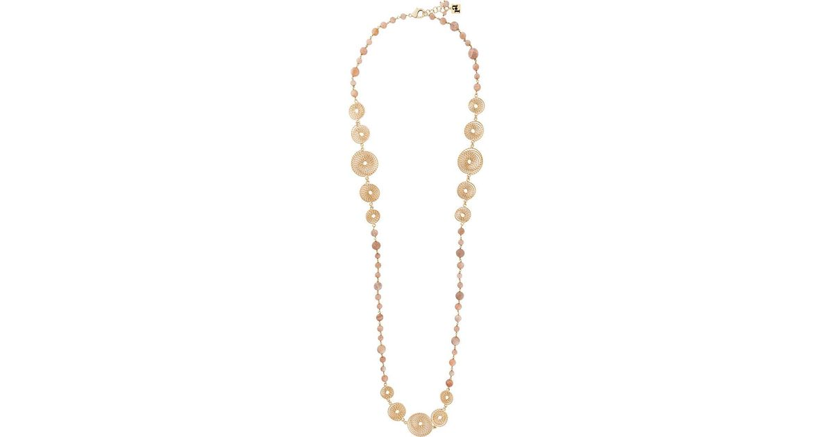 Rosantica double necklace - Metallic txolOg