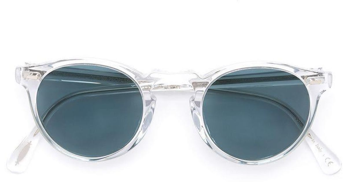 e9731015f5 Oliver Peoples Gregory Peck Sunglasses - Lyst
