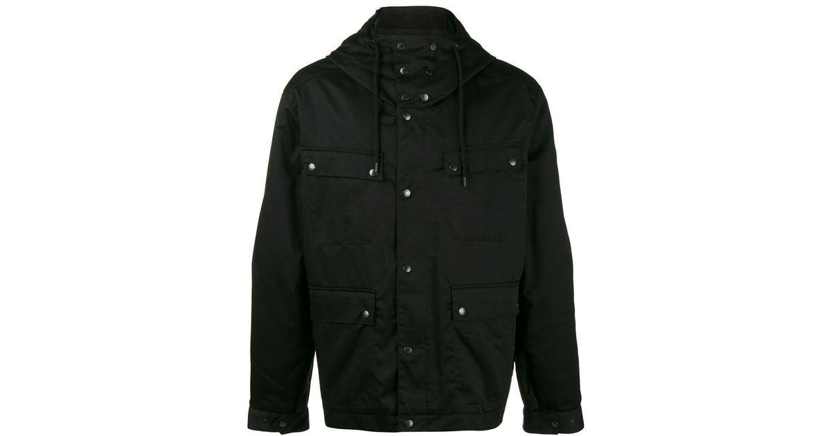 0caf99f6d82 KENZO Logo Print Jacket in Black for Men - Lyst