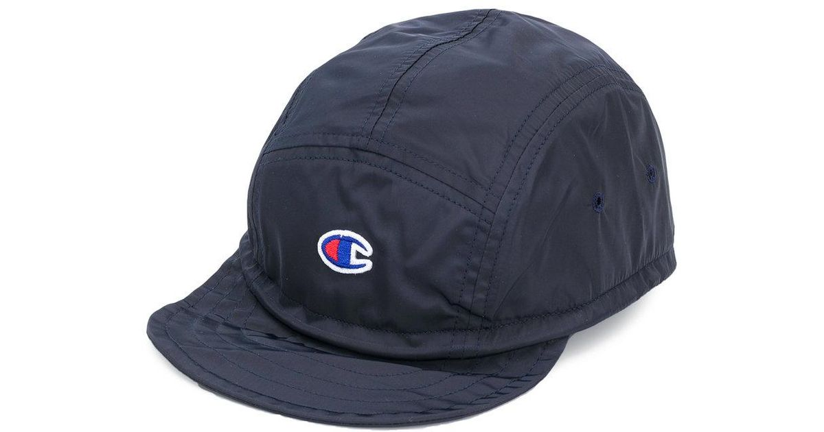 fcae981d62f ... new zealand lyst champion embroidered logo cap in blue for men e218e  5ac77