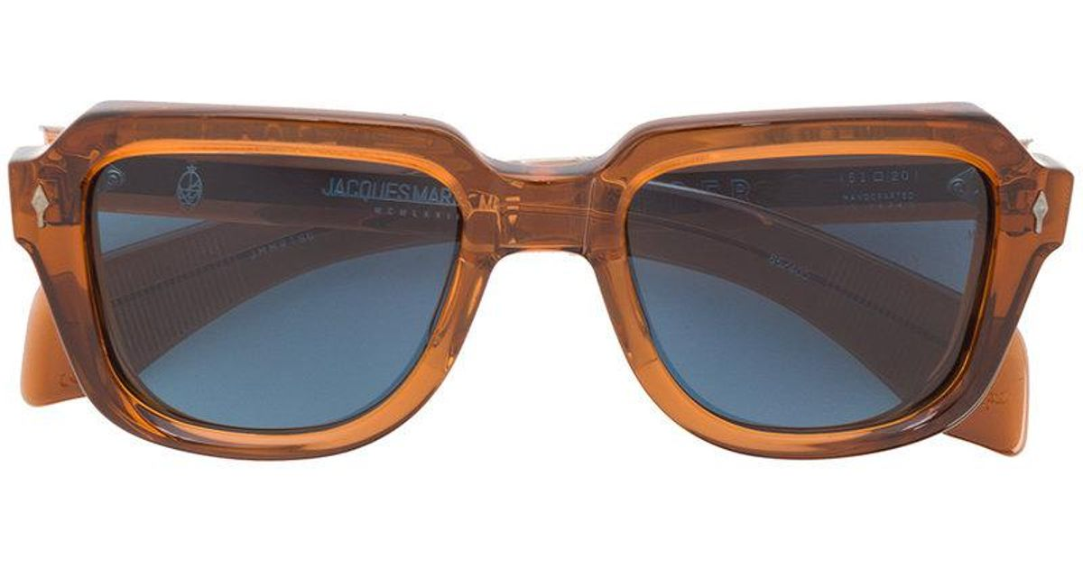 dceb5b3183 Jacques Marie Mage Taos Sunglasses in Brown - Lyst