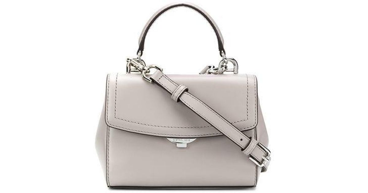 cff6c52ccaa1 MICHAEL Michael Kors Mini Ava Crossbody Bag in Gray - Lyst