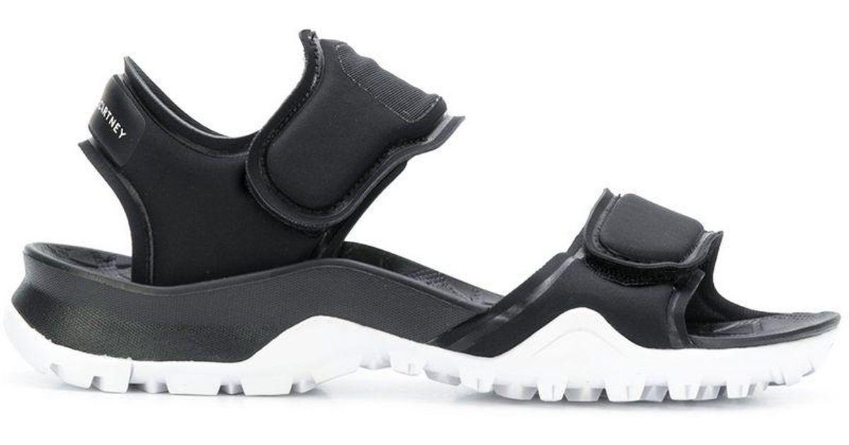 5ae8ca73f1a4 Lyst - adidas By Stella McCartney Sports Design Sandals in Black