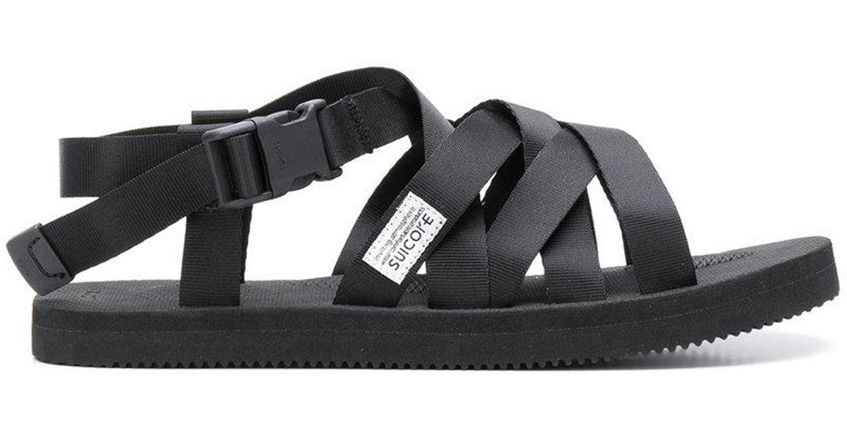 a2a31bb34d1d Suicoke Multi-strap Sandals in Black for Men - Lyst