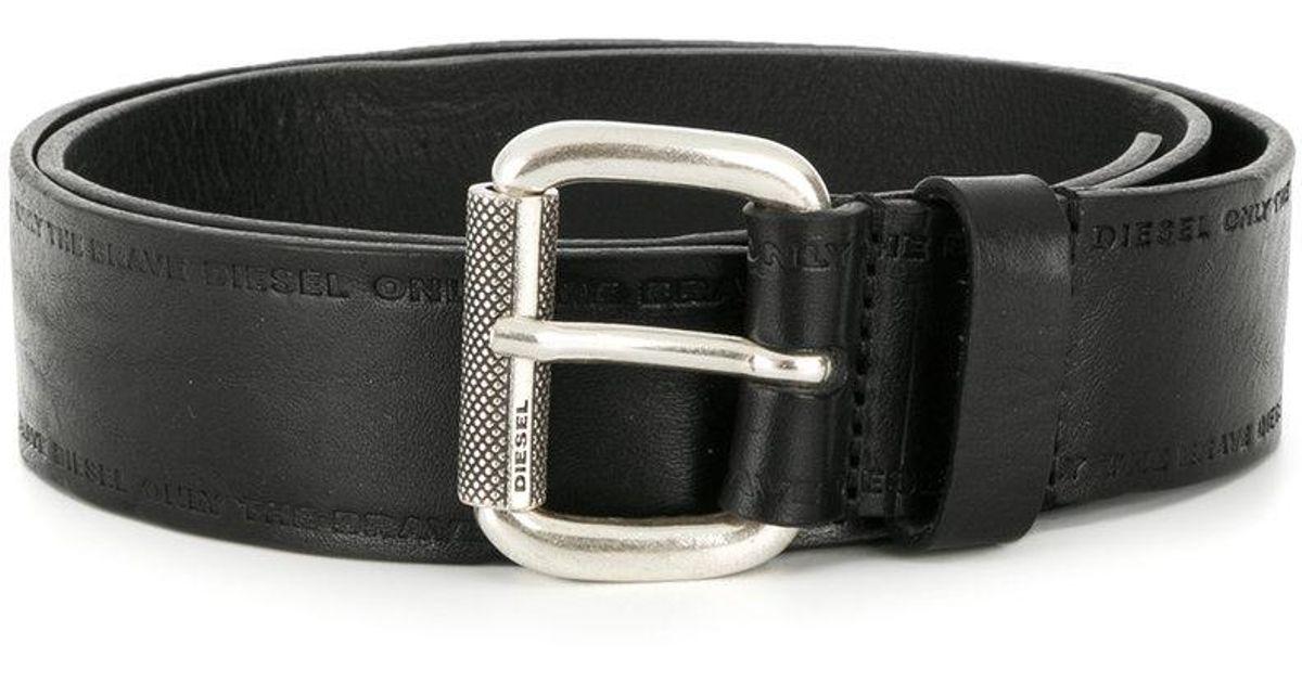 B-Carryon belt - Black Diesel G76q9