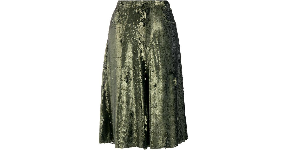 wide leg cropped pants - Green Marques Almeida Clearance Online Official Site 2018 Cheap Online Sale Shop For Cheap Sale Low Price Amazing Price Sale Online VRL3C