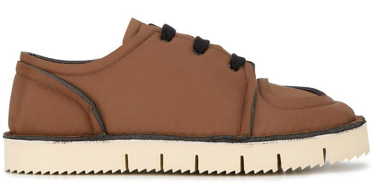 Foam Sneakers - Brown Marni q2HrVYNco
