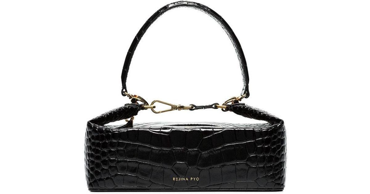 Olivia Croc-effect Leather Tote - Black Rejina Pyo Outlet Cheap Price LN5aMSH8j