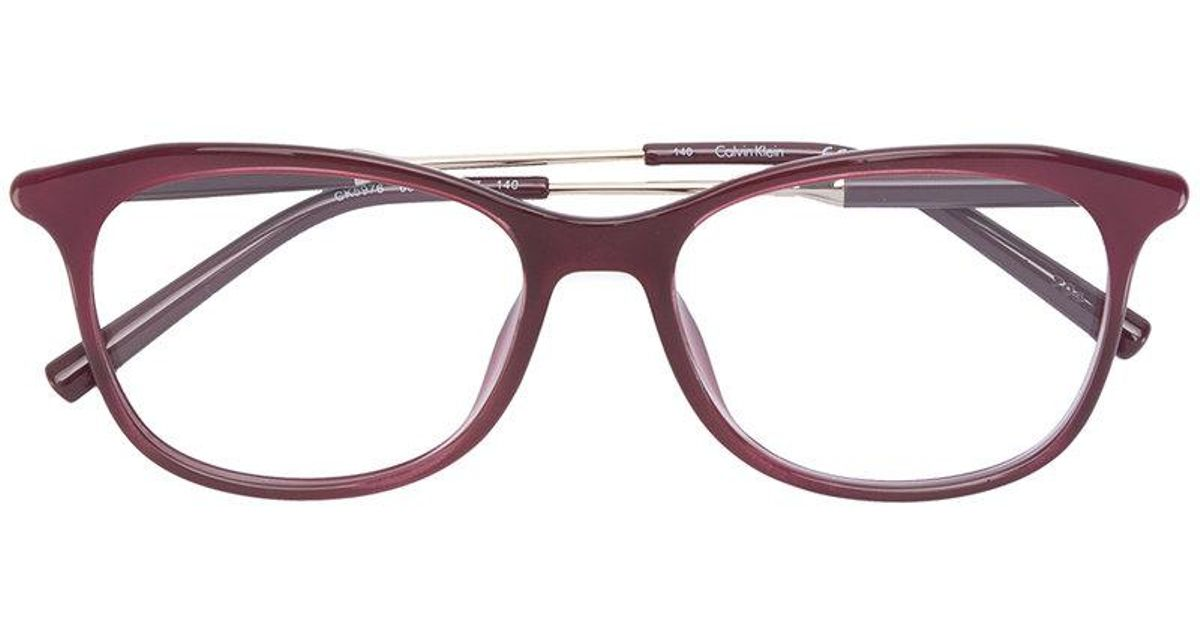 Best Online Buy Cheap Pay With Paypal Calvin Klein 205W39nyc square frame glasses REQni