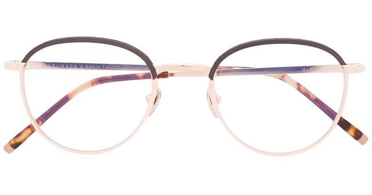 51a2421a9d2 Masunaga Mira Glasses in Metallic for Men - Lyst