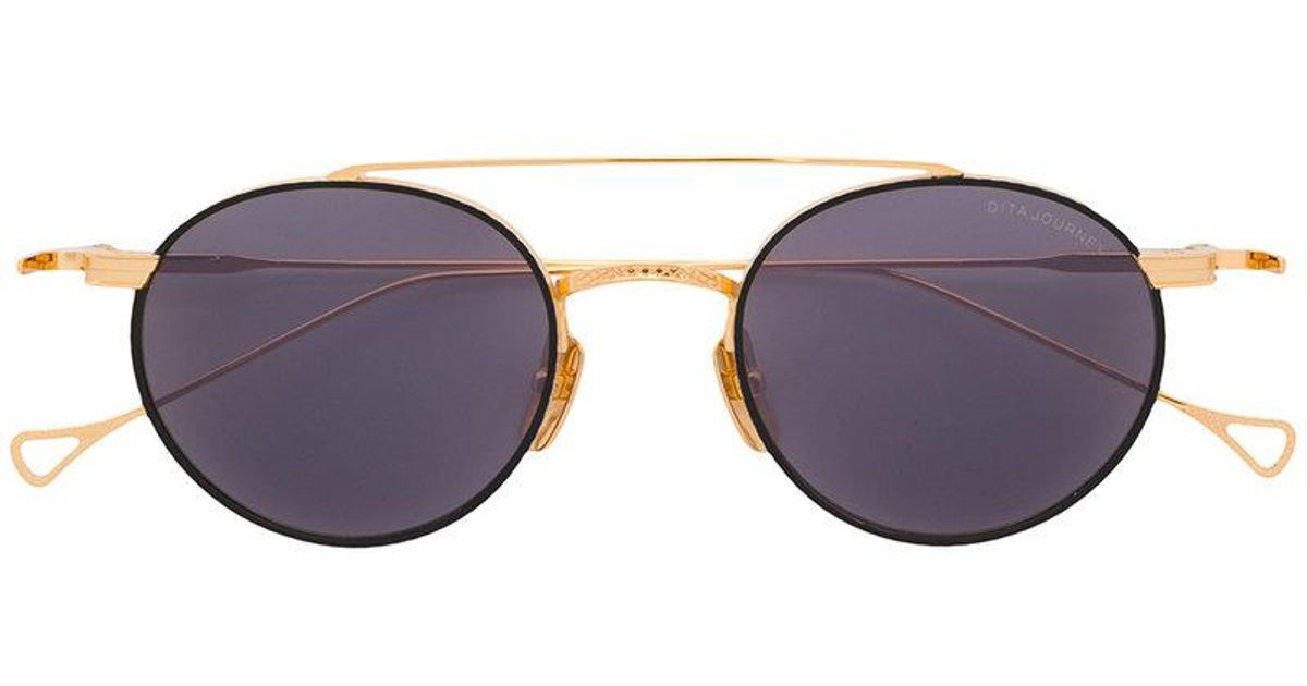 2c14ebe625 Dita Eyewear Journey Sunglasses in Metallic - Lyst