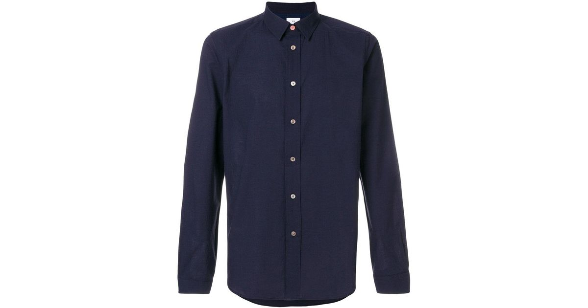 Multi Coloured Eastbay Sale Online slim stretch shirt - Blue Paul Smith Cheap Sale Shop Offer From China Online Clearance 2018 dnGLTpG0Ao