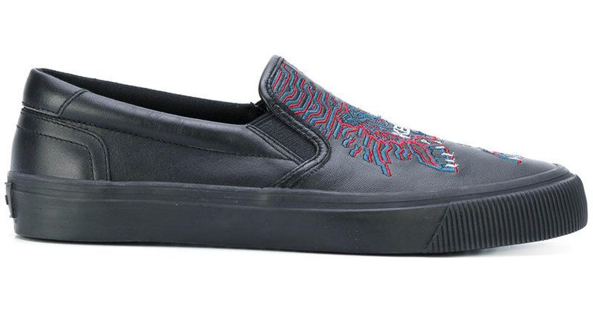 Slip-on Tigre Kenzo Chaussures De Sport SPQBLRBlz
