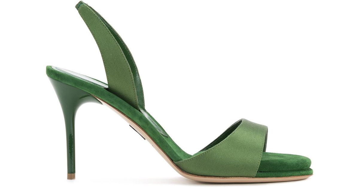 5cfcdff1528 Lyst - Paul Andrew Liva Sandals in Green