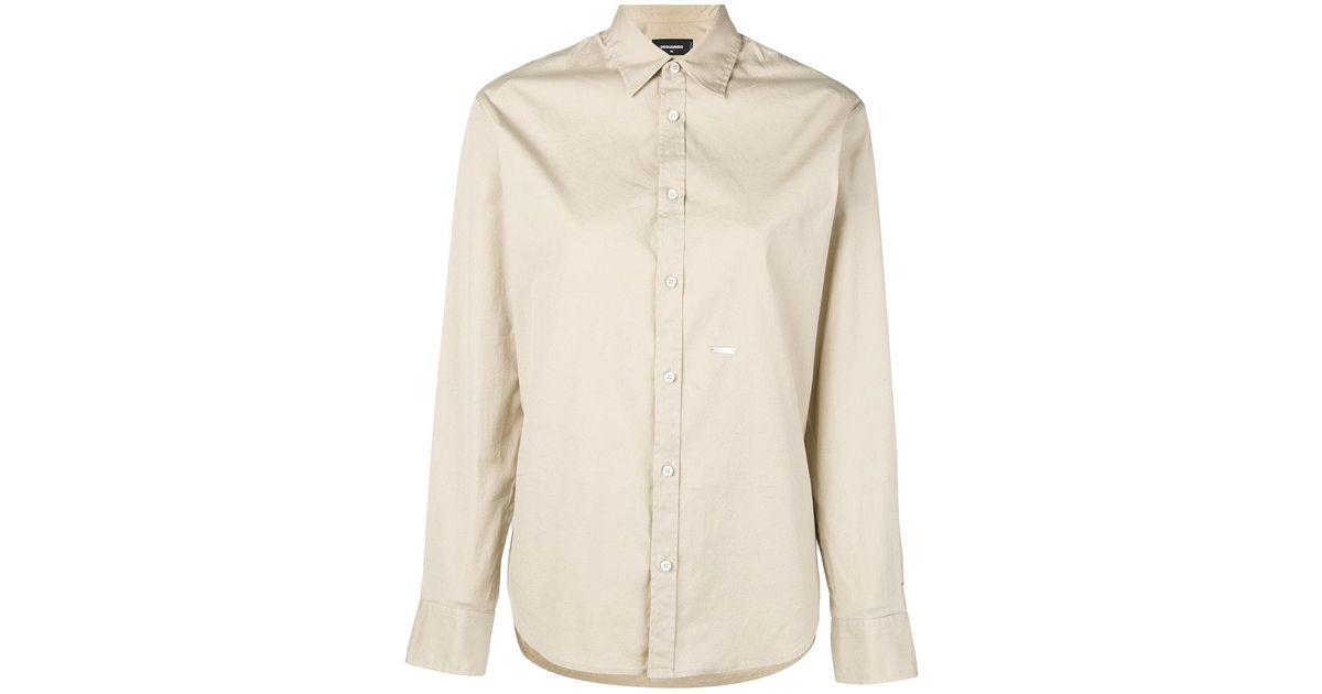1f853a11 DSquared² Utilitarian Shirt in Natural - Lyst
