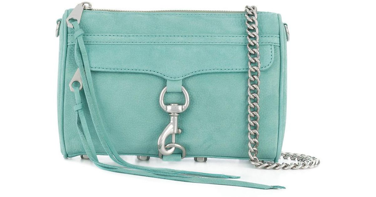 foldover clasp closure shoulder bag - Blue Rebecca Minkoff P3NWRY