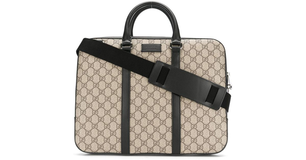 63afadd9d49 Lyst - Gucci Gg Supreme Laptop Bag for Men