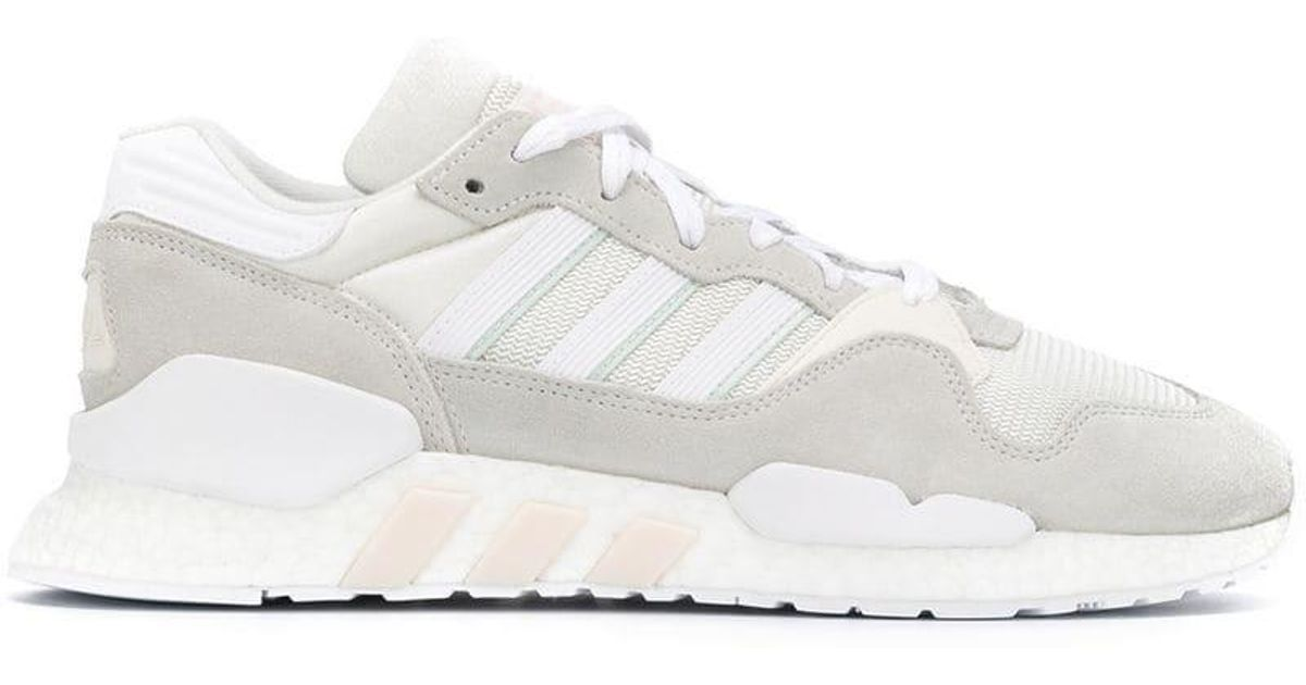 san francisco ec34e 81fa5 Adidas - White Zx930 Eqt Boost Sneakers for Men - Lyst