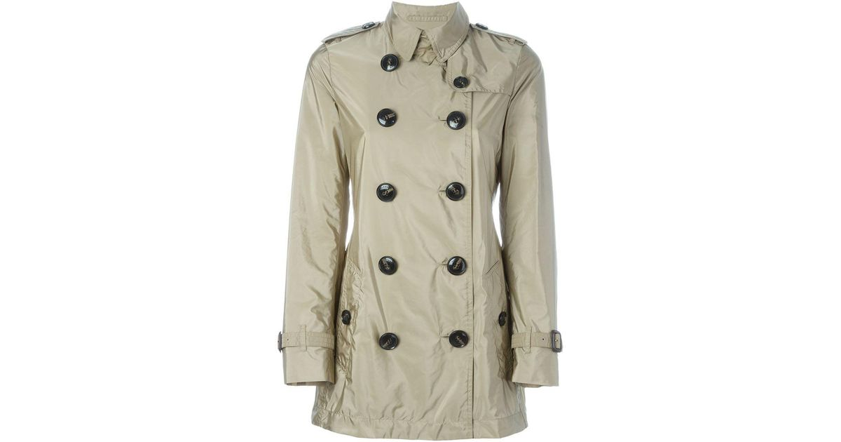 6a88f4a0a4895d Lyst - Burberry 'kerringdale' Double-breasted Raincoat