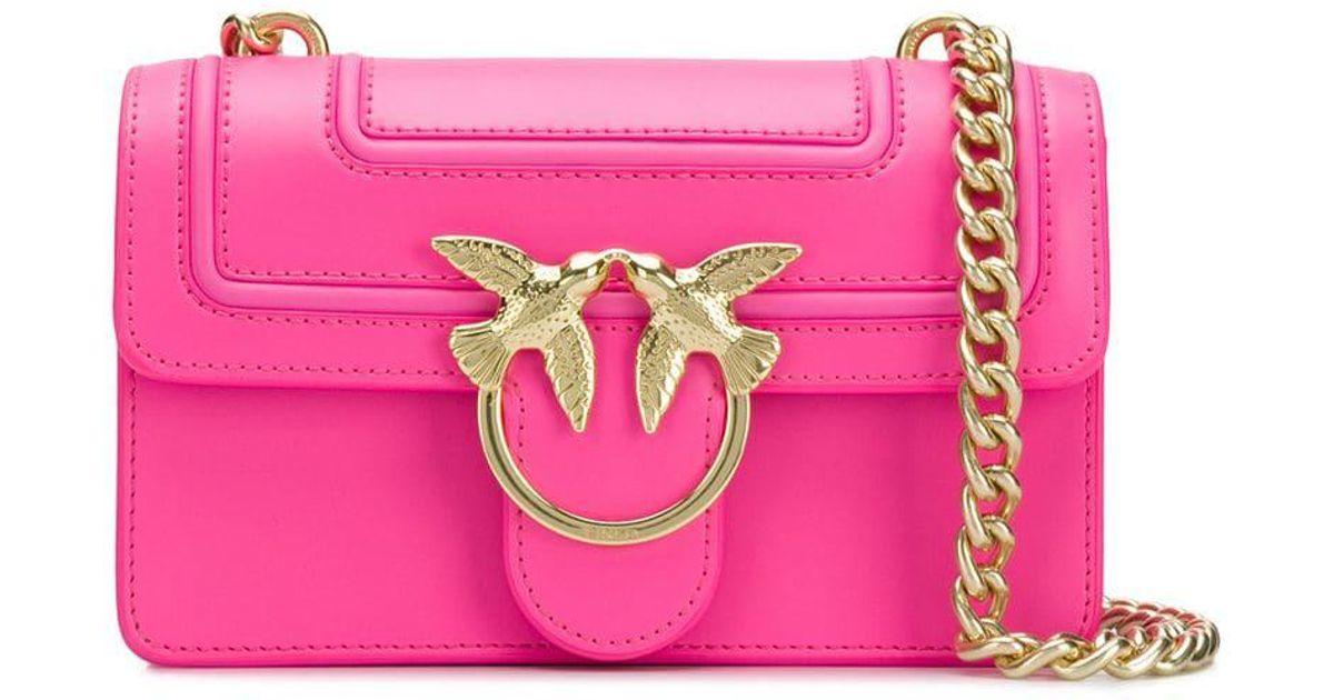 Simply Main Love Mini À Lyst Pink Pinko Sac DIWE2H9