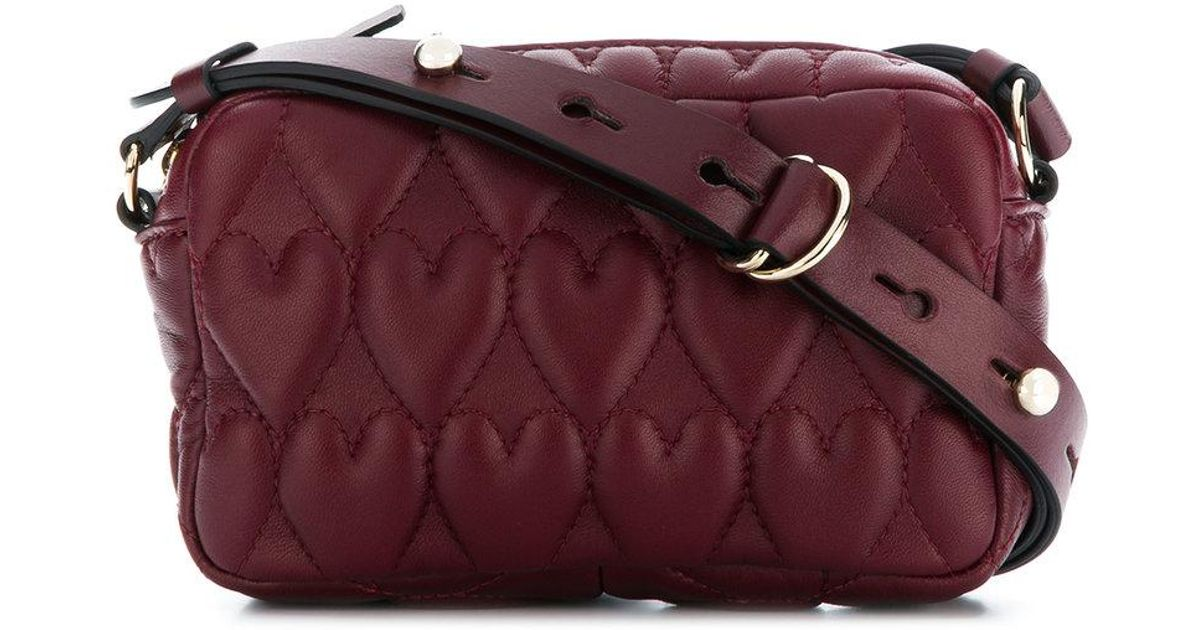 heart quilted crossbody Red Valentino LeXNk