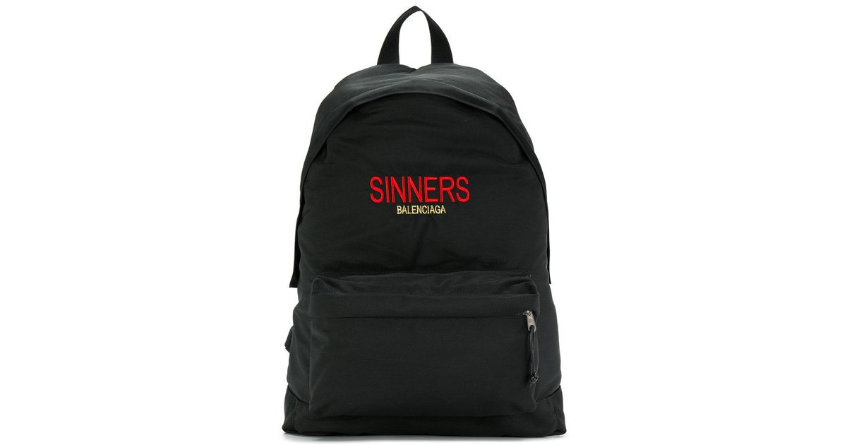Bal Explorer Sinners Backpack - Black Balenciaga Marketable Discount Amazon pT31b