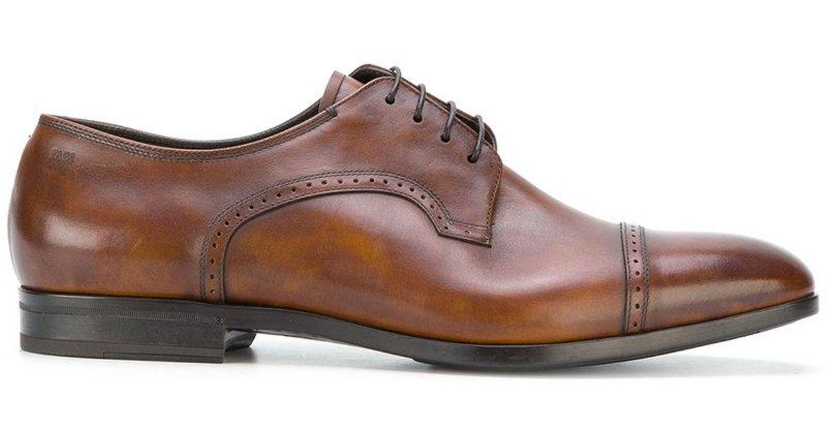 Chaussures Derby Fabi - Marron FwuxAiujoD