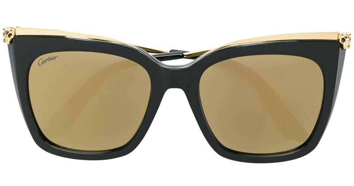Cartier Gafas de sol Panther Oversized ERZBPRq 2e59ea6249dc