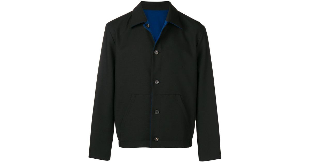 9351ff9f KENZO - Black Reversible Jacket for Men - Lyst