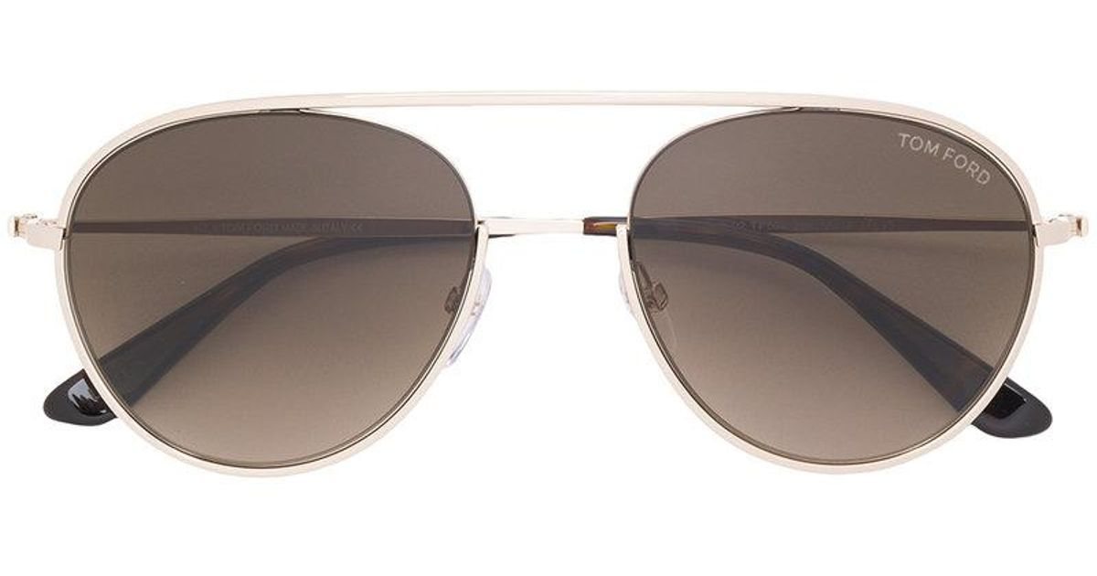 82adcb6d5c Lyst - Tom Ford Keith 02 Sunglasses in Metallic