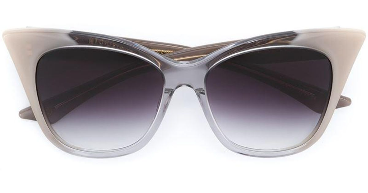 ea5812c154ce Lyst - Dita Eyewear  magnifique  Sunglasses in Gray