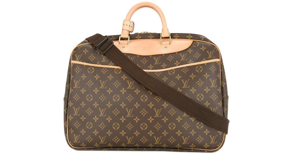 c161d5157 Bolso de viaje Alize 24 Heures 2Way Louis Vuitton de color Marrón - Lyst