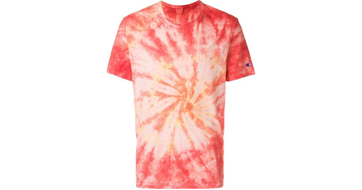 7cceeb0b90d5 Champion Tie Dye T-shirt for Men - Lyst