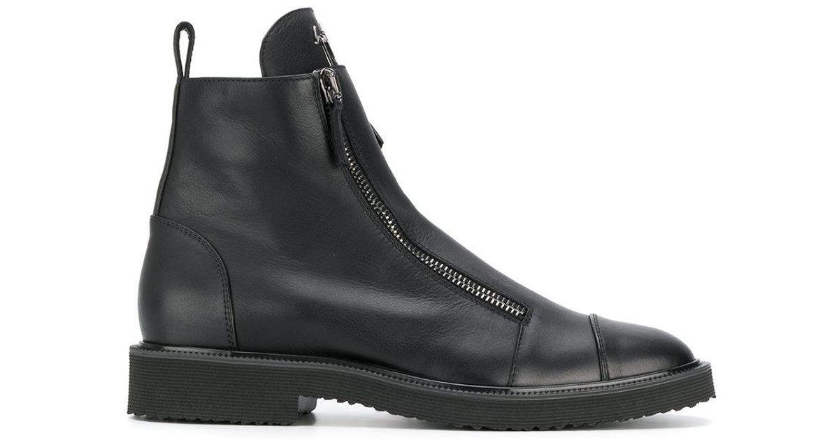 Giuseppe Zanotti Calfskin leather boot JEROME BJzVECN6