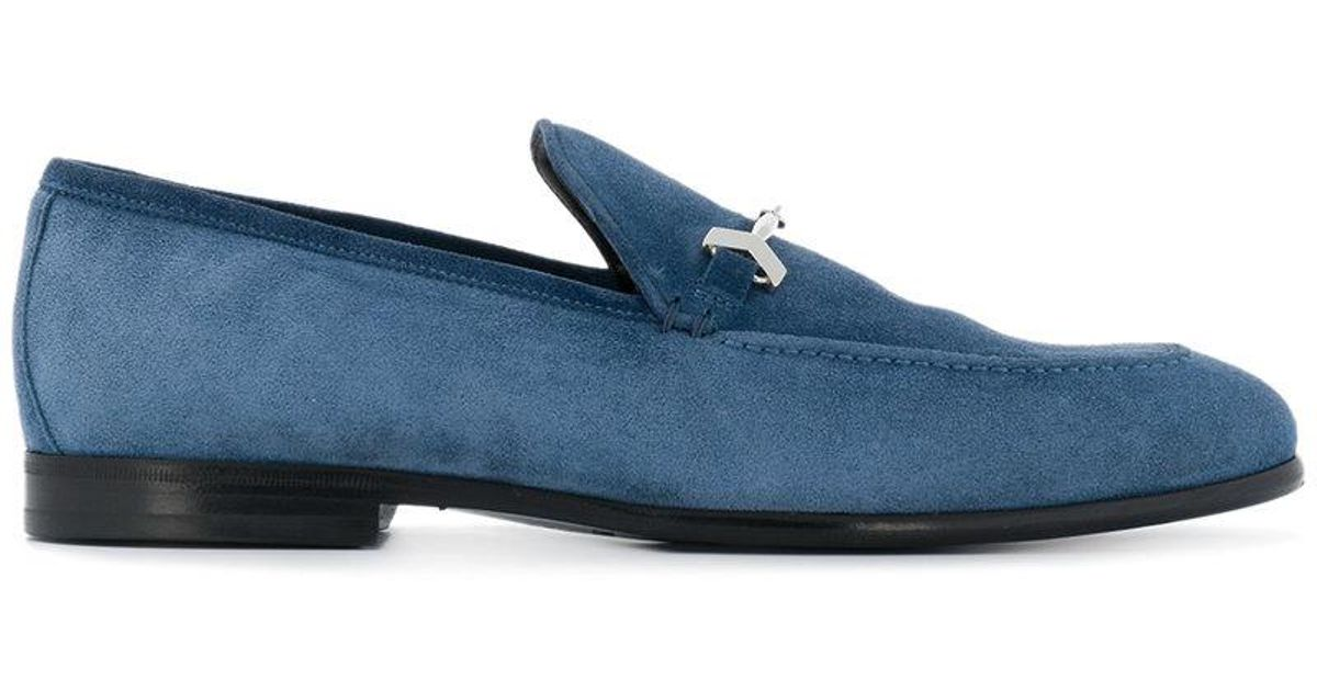 7a92cca07ef Lyst - Jimmy Choo Marti Loafers in Blue for Men - Save 60%