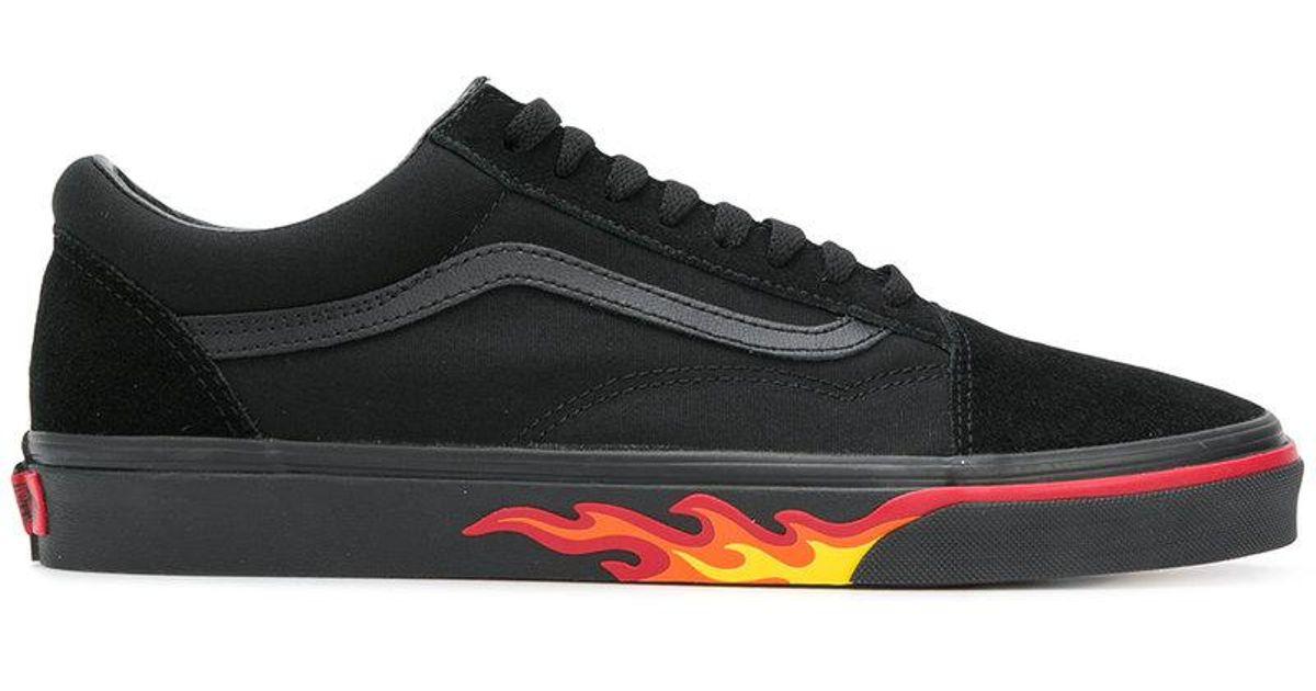 d46ab31e92 Lyst - Vans Flame Pack Old Skool Sneakers in Black for Men