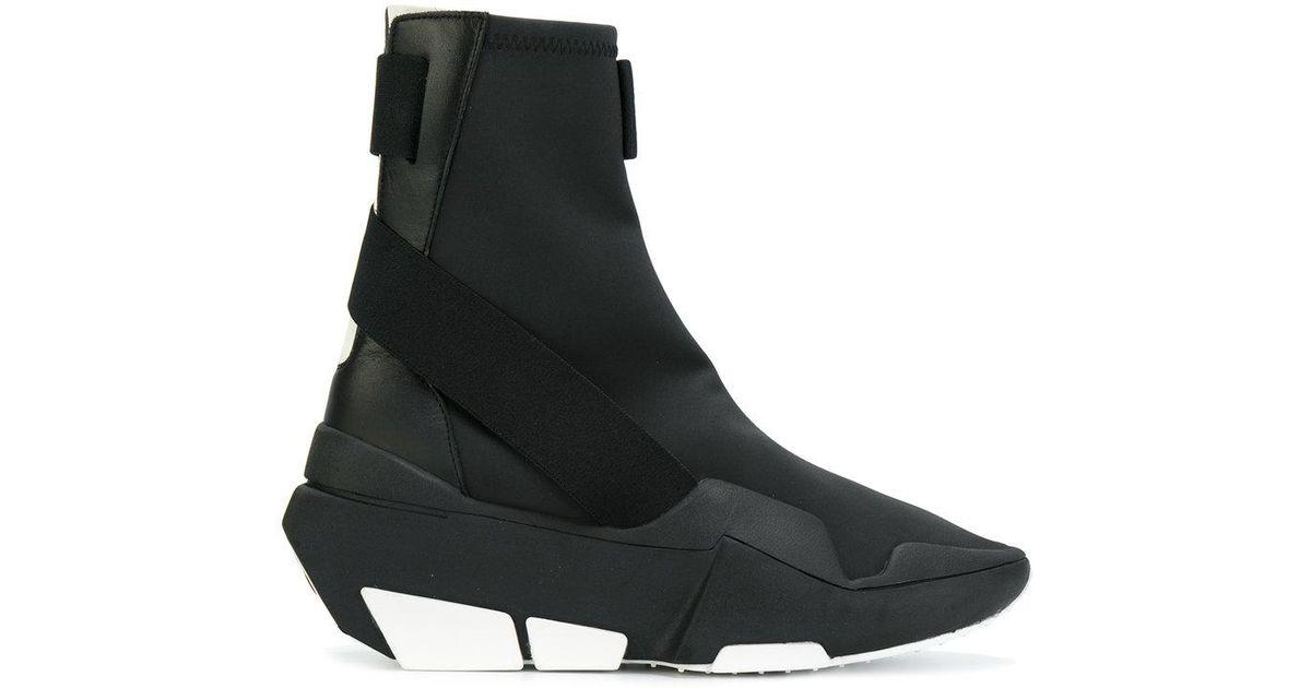 7d948d9075c18 Lyst - Y-3 Mira High-top Boots in Black for Men